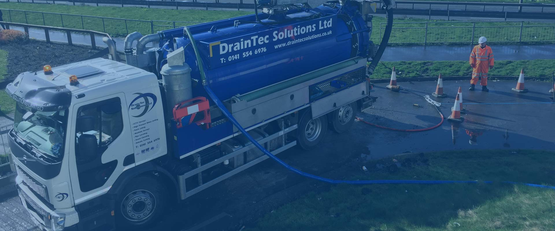 DrainTec Solutions - Professional Drain Cleaning in Glasgow, Scotland