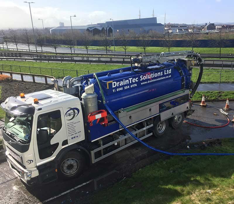 DrainTec Solutions Provide Professional Drain Solutions in Scotland