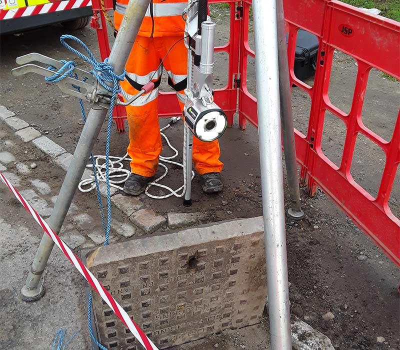 CCTV Manhole Survey from DrainTec Solutions