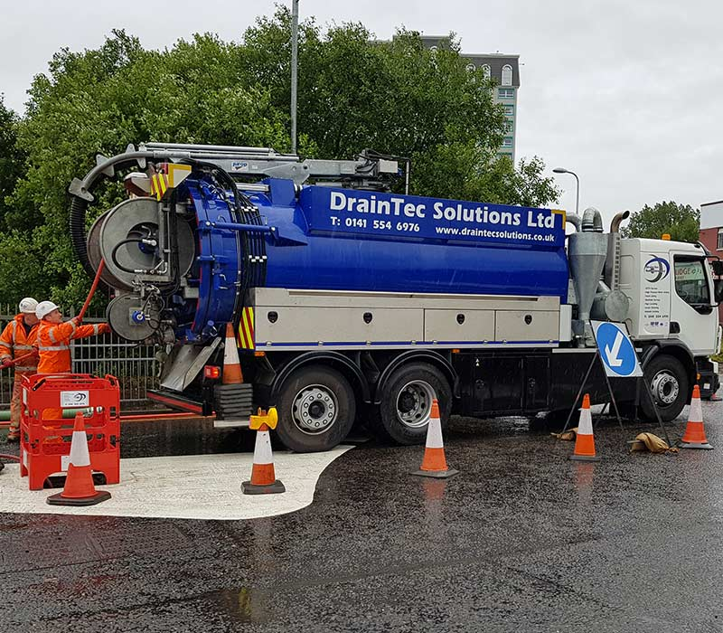 Drain Cleaning Services from DrainTec Solutions
