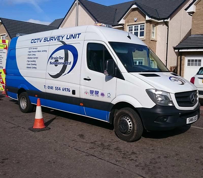 CCTV Drain Surveys from DrainTec Solutions