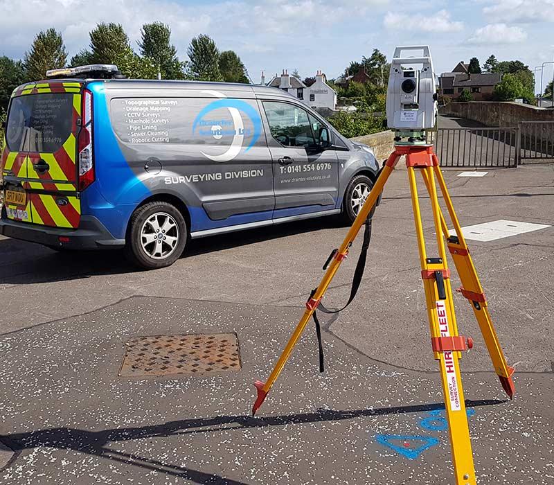 Topographic Surveys in Glasgow, Scotland - DrainTec Solutions